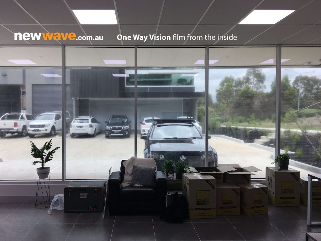 New Wave Electrical Contractors One Way Vision inside