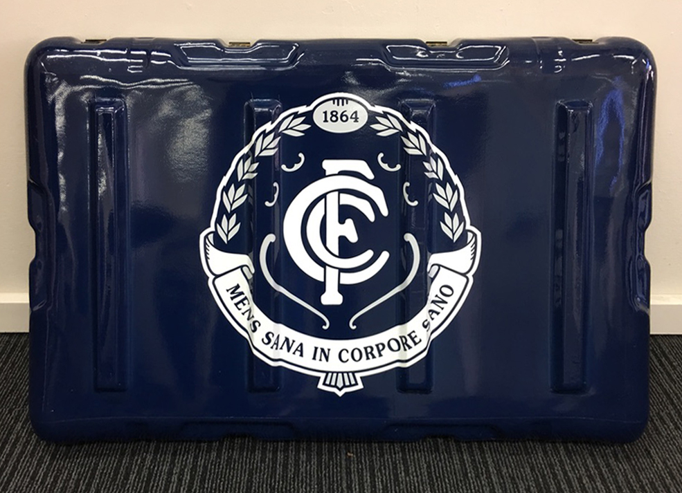 Carlton Football Club doctor's medical kit